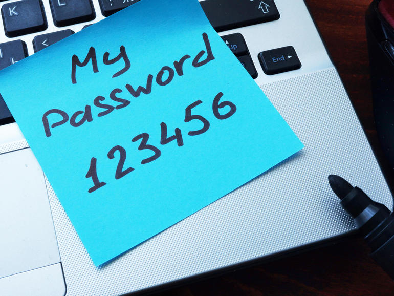 These are the most commonly hacked passwords - is one of them yours?